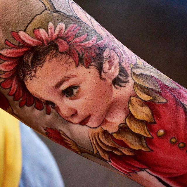 Silvia Princess Art on Skin Continue -Th