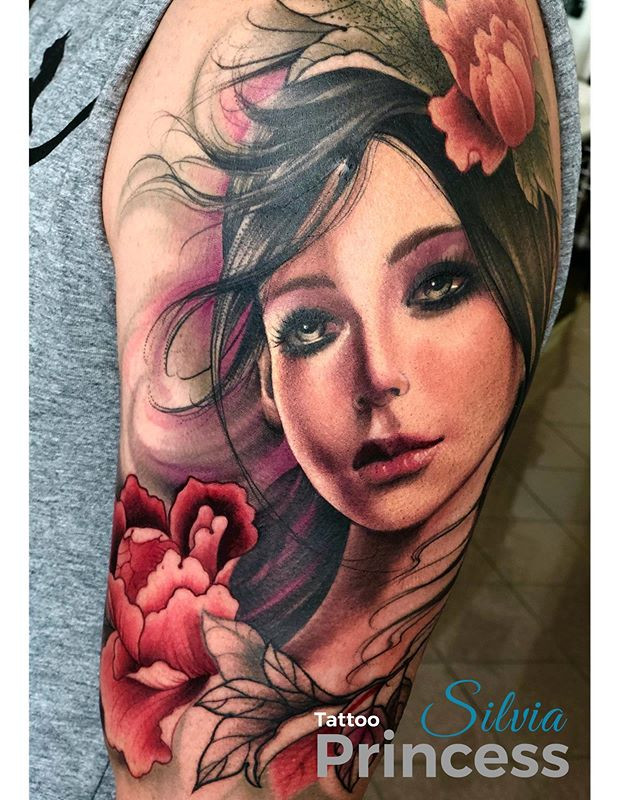 Silvia Princess Art on Skin-every day, l