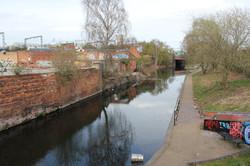 Canal in Digbeth, Birmingham