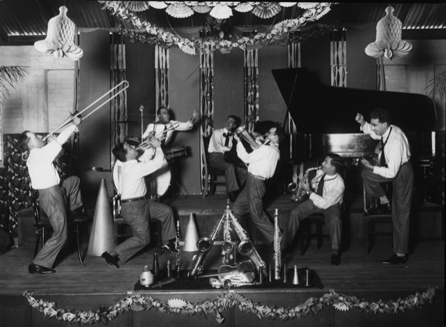 Crystal Palace Orchestra playing in Brisbane ca. 1929