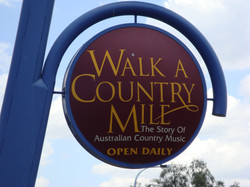 Walk a Country Mile signage