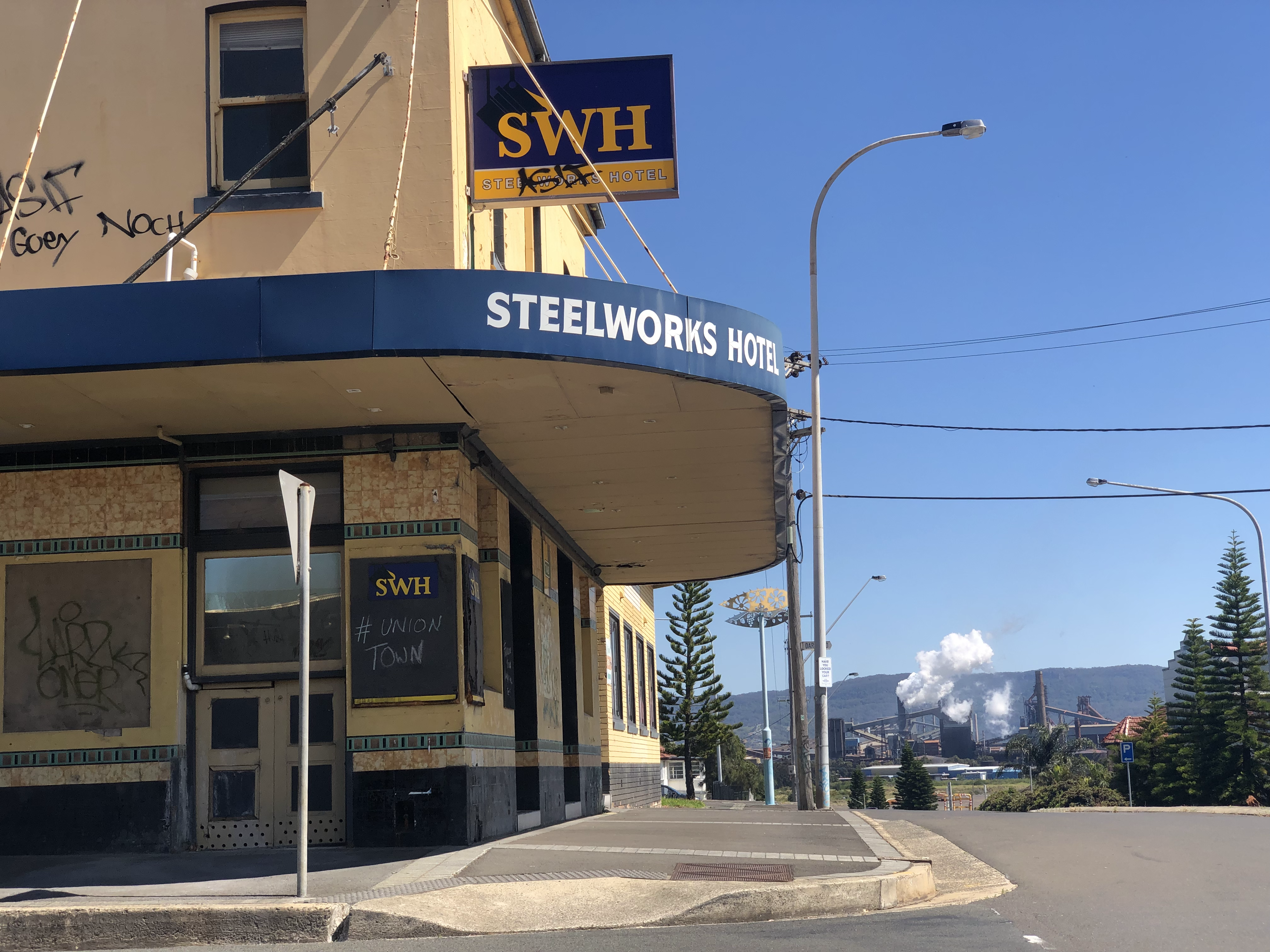 Steelworks Hotel, Wollongong