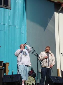 Live outdoor performance (hip hop), Reykjavik
