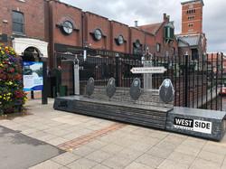 Black Sabbath Bridge and bench, Birmingham