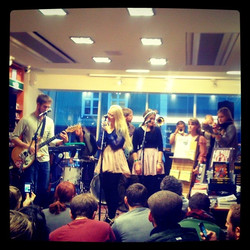Band performing at Iceland Airwaves, Reykjavik