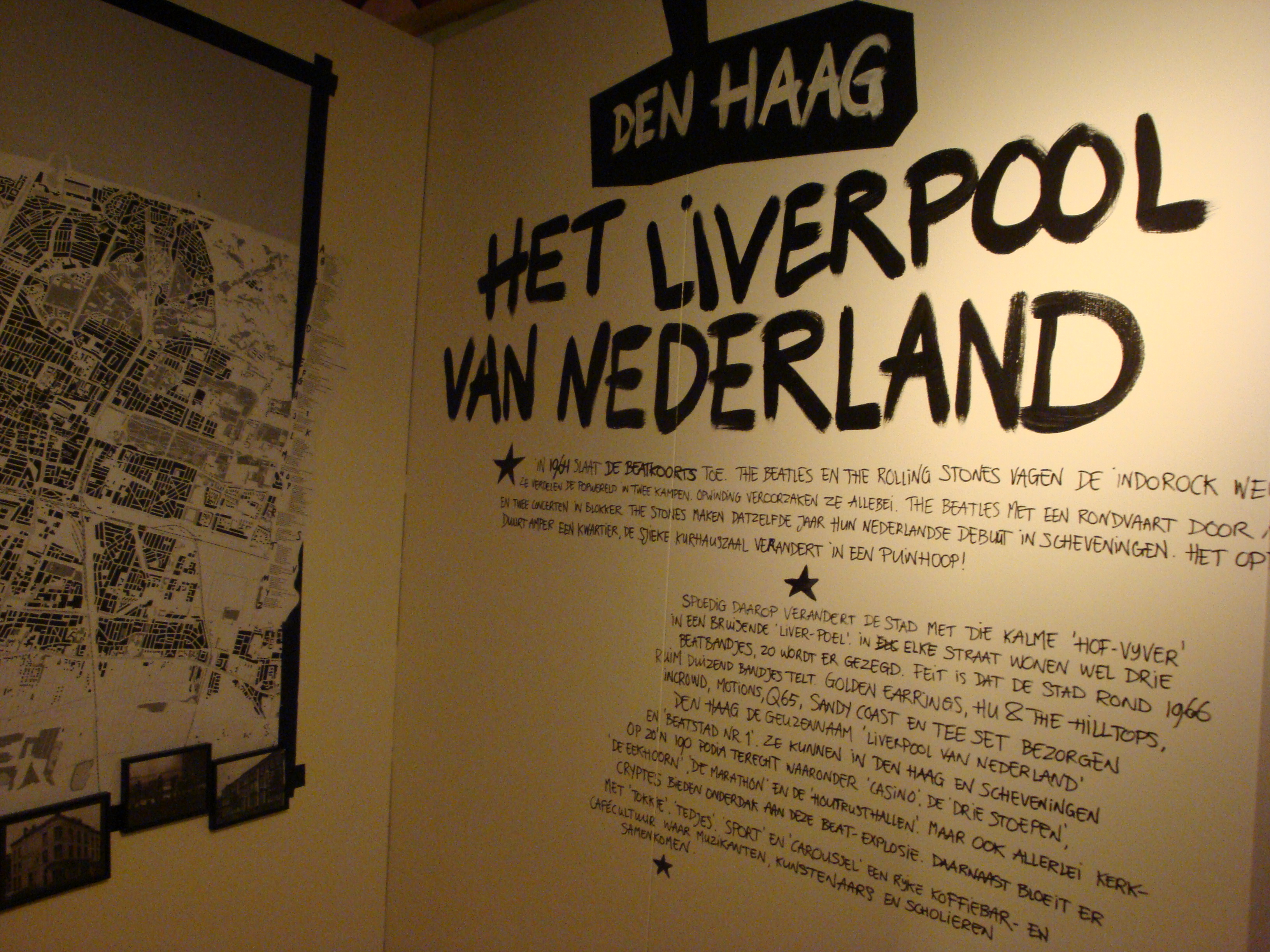 Golden Earring Back Home exhibition at Haags Historisch Museum, the Netherlands