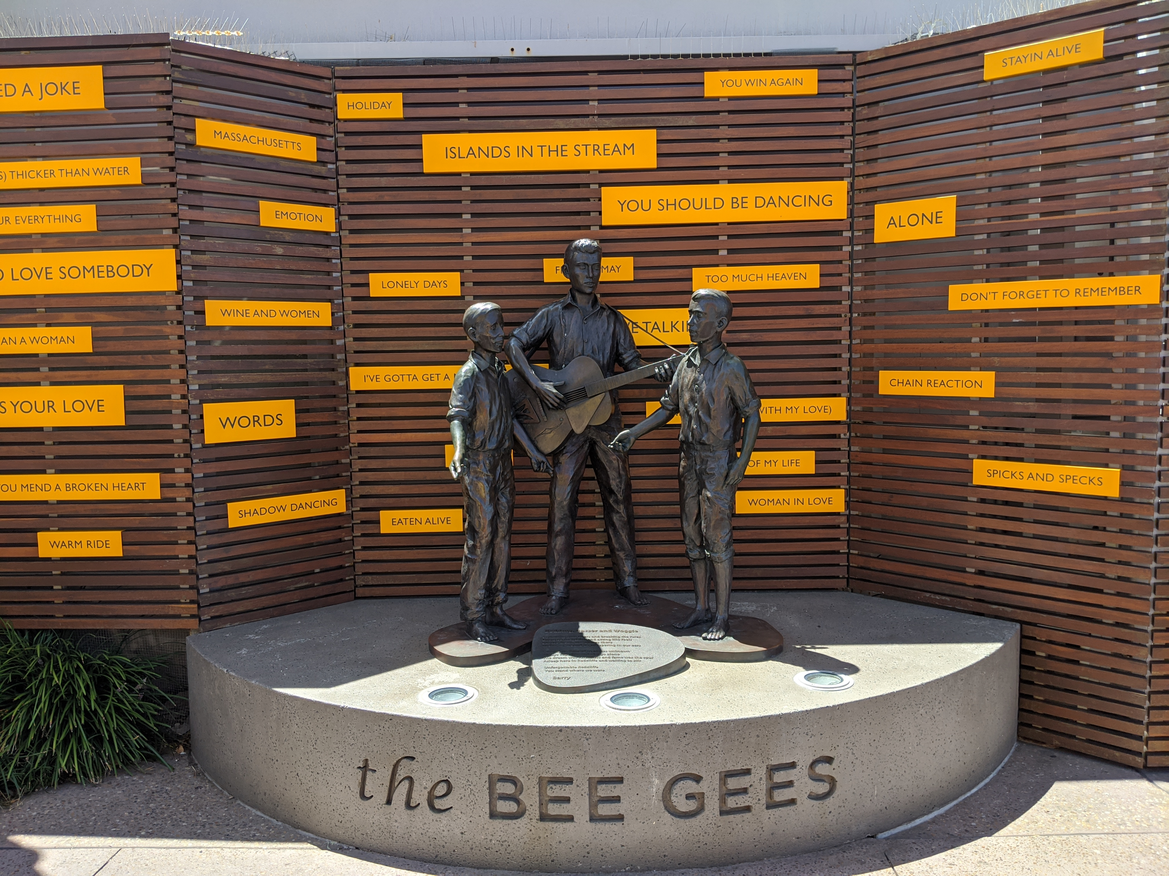 Bee Gees Way, Redcliffe