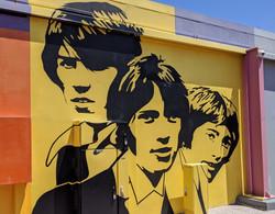 Bee Gees mural