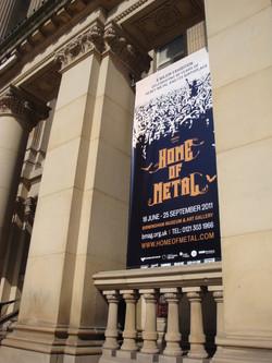 Home of Metal exhibition at Birmingham Museum & Art Gallery