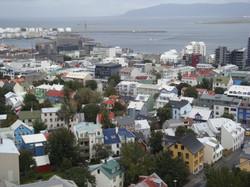 View of Reykjavik