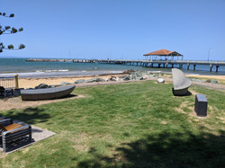 Beach at Redcliffe