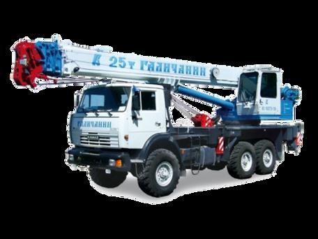 автокран 25 тонн, автокран 25т, кран вездеход, автокран ивановец, автокран Урал, автокран Камаз