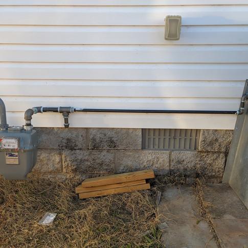 gas meter install