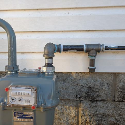 gas pipe job