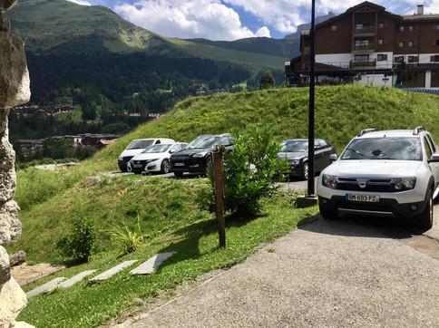 Le parking