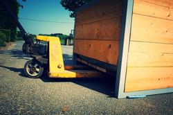 transport boombakken