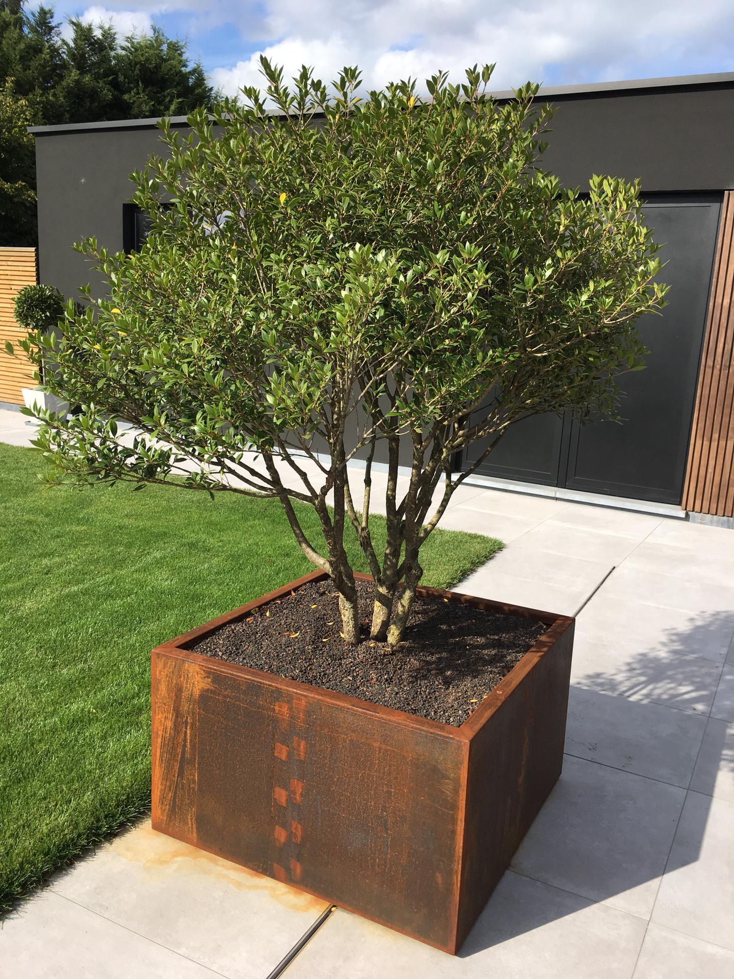 Terras element privé tuin