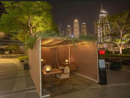 First-ever sukkah built in front of world's tallest building – in Dubai