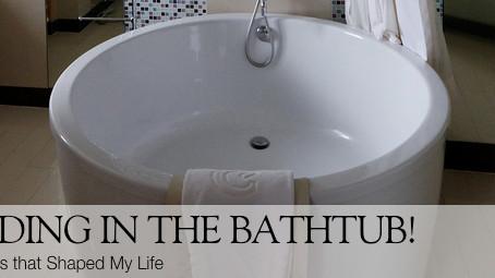Reading in my Bathtub: Falling in Love w/ Israel-Part 1