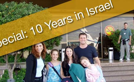 [New Podcast] My 10 Year Aliyah Anniversary!