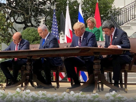 Israel's historic deal with two more Arab states just the beginning, Trump promises