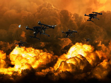 Israel Keeps Advancing In Defense - Army of Drones Sent Against Hamas Attacks!