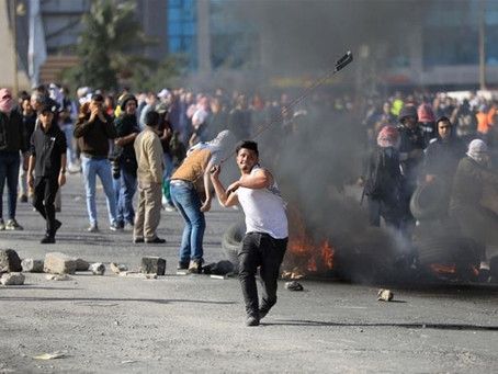 Palestinians mark Day of Rage with protests, fire rockets at Israel