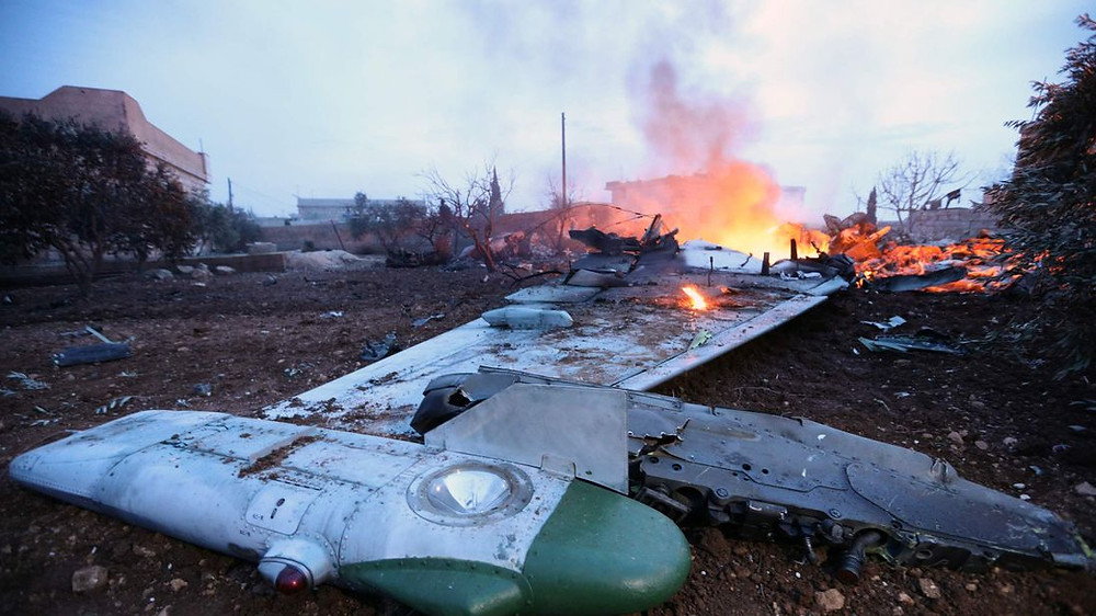 Image result for syrians shot down russian plane