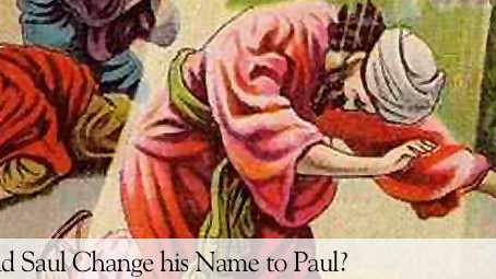 Why Did Paul Change His Name?