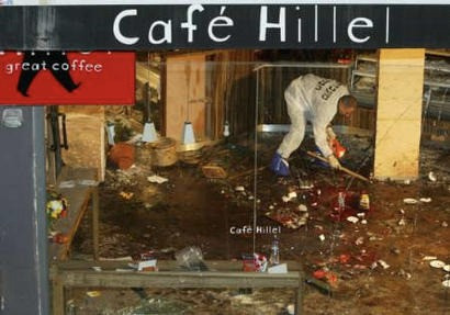 PA raises salary of terrorist who helped carry out Cafe Hillel attack