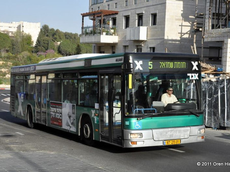 Israeli bus driver could lose job after talking about Yeshua on the job