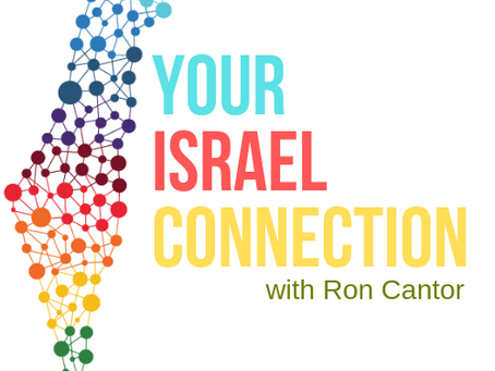 Your Israel Connection with Ron Cantor PURIM EDITION!