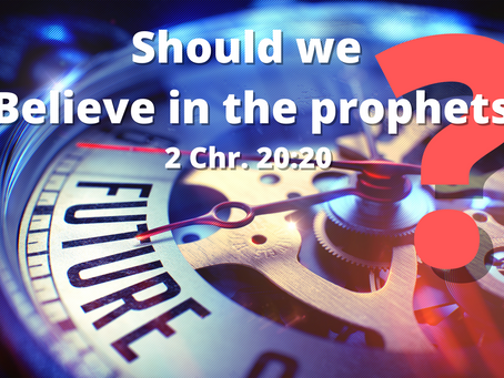 """5 Reasons """"Believe in the Prophets"""" does not translate to the New Testament"""