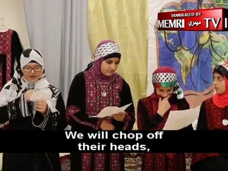 Anti-Semitic video by Muslim children in America surfaces