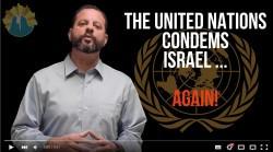 un condemns israel