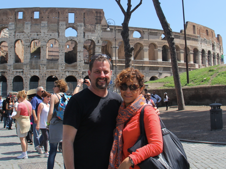 My 'Roman Holiday' (Preaching Jewish Roots in Rome!)
