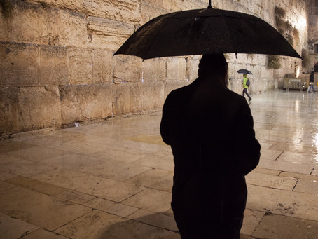 Israel experiences wettest winter in years. It is a sign of things to come in the Spirit? 'You shed
