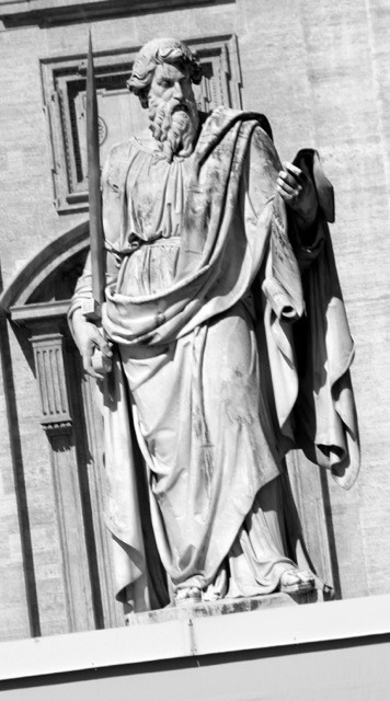 Paul Statue at the Vatican
