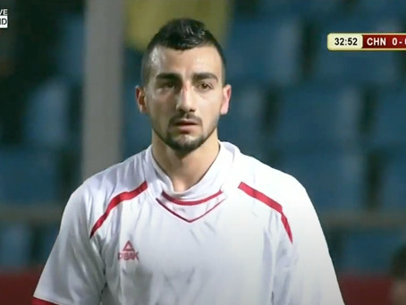 Palestinian national soccer team star booted for signing with Israeli squad