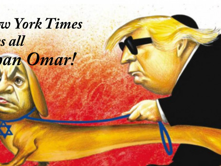 NY Times runs outrageous anti-Semitic cartoon — apologizes — and then does it again!