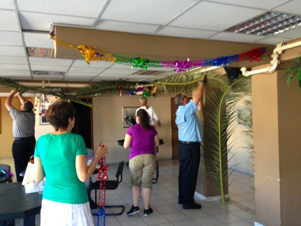 So grateful to the team from First Assembly of Rochester, Mich. that decorated our fellowship hall.