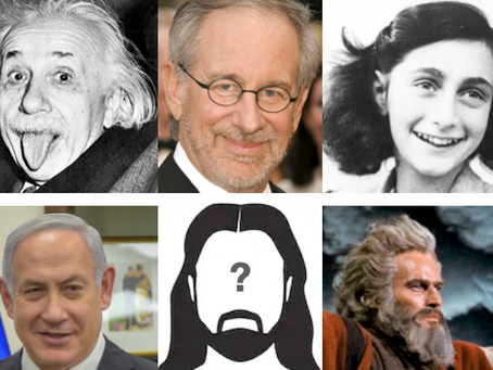 Why is the most famous Jew worshipped by Gentiles?