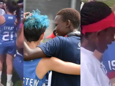WATCH! Israel lacrosse team gifts cleats to Kenyan team
