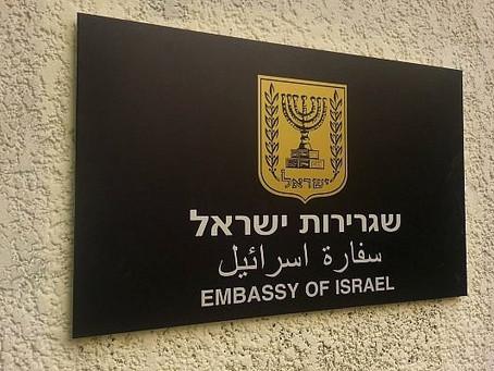 Israeli embassies, Air Force on high alert