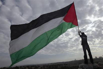 The Palestinian flag was created only in 1964 by the PLO, a non-state and only adopted as the official Palestinian state flag in 1988, disproving the myth of a former Palestine.