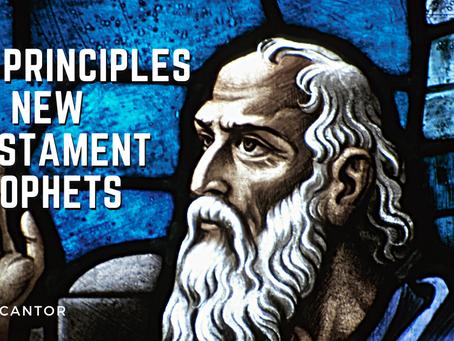 12 Principles on New Testament Prophets