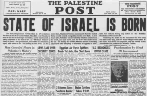 Jewish Owned Newspaper—The Palestine Post
