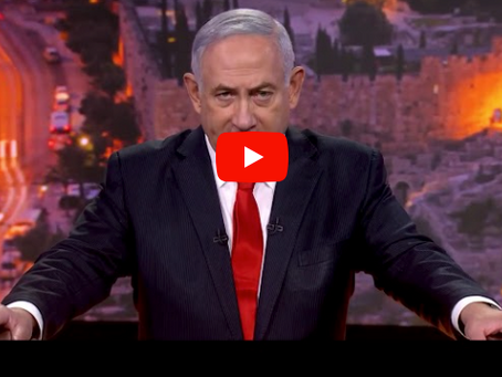 Watch: In speech to UN, Netanyahu provides the address of alleged Hezbollah arms depots