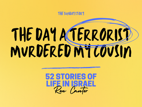 The day a terrorist murdered my cousin  - 17