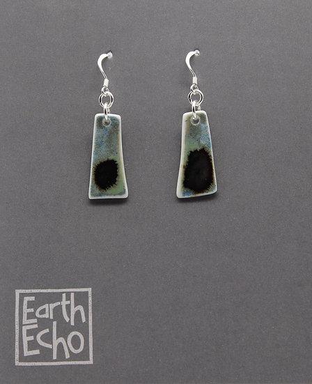Ink on Water Earrings